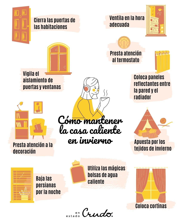 10 Ideas útiles Para Calentar Tu Casa Y Evitar Las Fugas De Calor